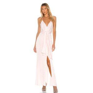 REVOLVE L'Academie Maxi Dress in Primrose Pink S